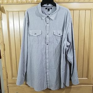 Apt. 9 Button Down w/Tab Sleeve, sz XXL